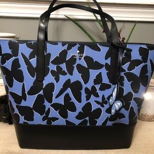 💄 Kate Spade butterfly tote bag